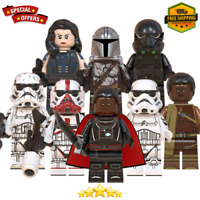 8Pcs lego Star Wars The Mandalorian season 2 Trooper - LEGO MOC Minifigures Toys