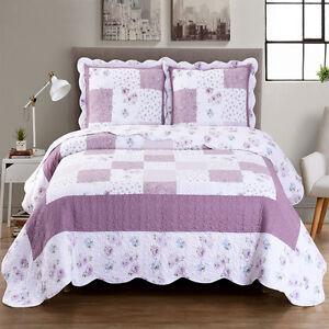 Stylish Ventura Oversize Coverlet / Bedspread 100% Microfiber Wrinkle Free Cover