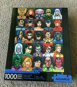 Aquarius- DC Comics Faces (1000 Pieces Jigsaw Puzzle)