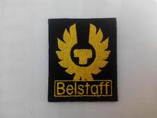 Parche bordado para coser estilo Belstaff 6/7 cm adorno ropa personalizada