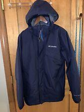 NWT Columbia Womens Bugaboo II Fleece Interchange Jacket - Blue - Medium