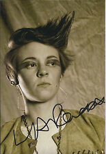 La ROUX Elly Jackson SIGNED Autograph Photo AFTAL COA Grammy Award Winner