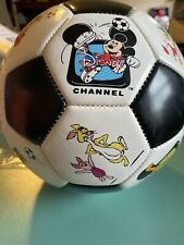 Rare Disney Channel Soccer Ball Mickey And Other Characters