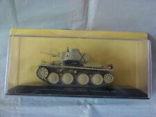 EAGLEMOSS Pz.Kpfw.38 t Ausf.E 1st Armoured Brigade Bulgarie 1944 1/43 NEUF BO