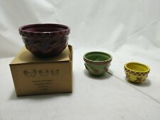 Momma McVeggies Bowl Set The Boyds Collection Small Collectible