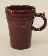 Fiestaware Claret Latte Mug Fiesta Burgundy Tall 18 Ounce coffee Mug