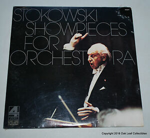 London R224497 2LPstereo STOKOWSKI Showpieces for Orchestra, 1978 SEALED