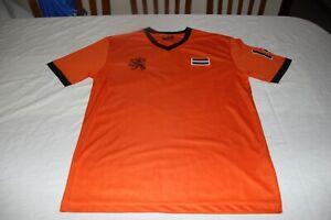 Maillot De Football Vintage Sélection de Holland Taille M N°14 Cruiff T-Shirt