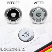 Start Stop Knopf Reparatur Ersatzteil Aufkleber BMW E90 E91 E92 E60 61 E84 E70 4