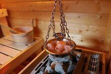 Sauna Deluxe Verdampferschale Kräutertopf Edelstahl für Sauna Aufguss 16cm