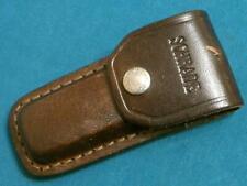 VINTAGE SCHRADE USA BELT LB5 5OT SHEATH 4 LOCKBACK FOLDING HUNTER KNIFE KNIVES