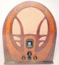vintage PHILCO 89 CATHEDRAL RADIO: Working RADIO w/ LOTS OF VOLUME / good tubes