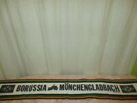 """Borussia Mönchengladbach Fan Schal 90iger Jahre """"BORUSSIA MÖNCHENGLADBACH"""" TOP"""
