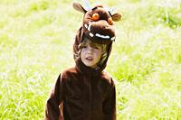 gruffalo costume, children party costume, grufflao birthday party fancy dress