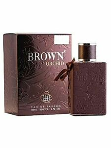 Brown Orchid by Fragrance World 80ml EDP Unisex (Indian&Cambodian Oudh)