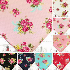 Unbranded Floral Fat Quarter Quilting Craft Fabrics