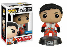 Star Wars Poe Dameron w/out Helmet Walmart Excl Pop! Vinyl Figure - New in stock