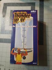 Hulk Hogan Thunder Mixer Shakes 16 oz Blender Wrestling WWF WWE