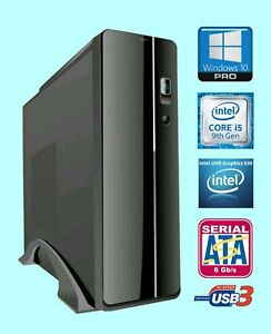 9th Gen Intel® i-5 Core™ 9600K 3.7Ghz PC, 4k, 8Gb, 1 TB HD, DVDRW, Win 10 Pro