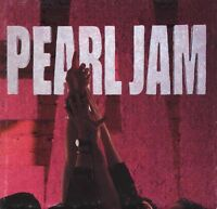 Pearl Jam CD Ten - Europe (EX+/EX+)