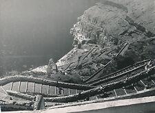 ÎLE DE SANTORIN c. 1950 - Les Escaliers à Fira Grèce - DIV 9316
