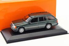 Mercedes-Benz 300 TE (S124) Baujahr 1990 dunkelgrün metallic 1:43 Minichamps