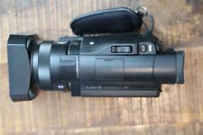 """Sony FDR-AX100 4K Ultra HD Camcorder 12x Optical, 3.5"""" Touchscreen LCD"""