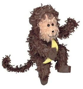 MONKEY PINATA perfect for baby showers and jungle events
