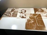 Vintage Marilyn Monroe Five Rare Black And White Photos 11 X 14