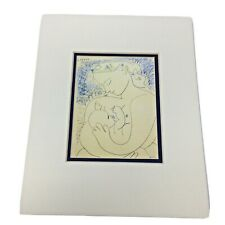 Pablo Picasso Maternite Reproduction Lithograph Succession Picasso 2007