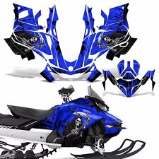 Ski-Doo 850 Renegade Summit Decal Graphic Kit Sled G4 Snowmobile Wrap REAP BLUE