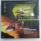 Protocol Turbohawk Lava 3 Ch Remote Control Helicopter Easy LED Realistic Flight