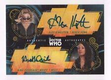 2017 Doctor Who Signature Series autograph Alex Kingston Nina White DWDA-KT 5/5