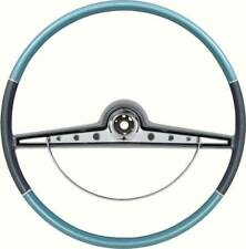 1963 Chevrolet Impala SS & Standard Steering Wheel w/Horn Ring - Two Tone Blue