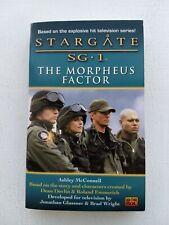 Stargate: The Morpheus Factor by Ashley McConnell Stargate Sg 1