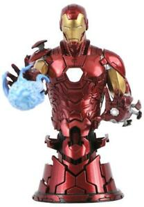 Diamond Select Marvel IRON MAN 1/7 Scale Mini Bust Limited Edition #1135/3000