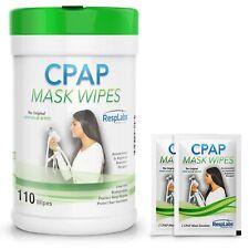 RespLabs Medical CPAP Mask Wipes - [110 Pack Bottle Plus 2 Individual Packs] ...
