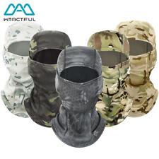 Камуфляж ветрозащитная балаклава тактическая лыжи спорт полнолицевой маской капюшон шлем шапка