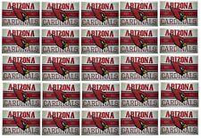 Arizona Cardinals Stickers Set of 25 Vintage Banner Design NFL Licensed