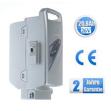 20.8Ah Ersatz Akku für Panasonic E-Bike 26V (Kalkhoff, Kettler,  Rixe ab 2007)