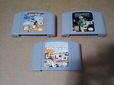 3x x3 Star Wars N64 Rogue Squadron Shadows Racer Nintendo 64 Three Game Games