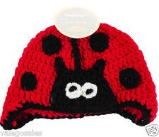 Boye Crochet Hat for Baby Infant Unisex ~ LADY BUG #121096 Sale