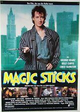 Magic Sticks PETER KEGLEVIC, GEORGE KRANZ - Filmplakat DIN A1 (gerollt)