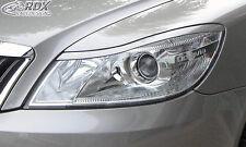 RDX Scheinwerferblenden SKODA Octavia 2 / 1Z Facelift 2008+ Böser Blick Spoiler