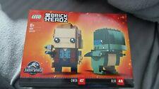 Lego Brickheadz 41614 Jurassic World Owen & Blue Construction Kit Toy
