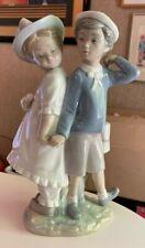Authentic - Lladro Figurine - Puppy Love - #1127 (Retired Piece)