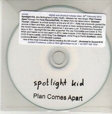 (CU420) Spotlight Kid, Plan Comes Apart - DJ CD