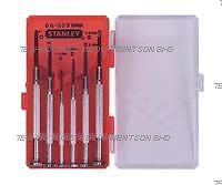 STANLEY 6-Piece Jewelers Precision Screwdriver Set