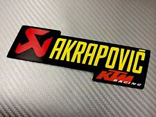 Adesivo Sticker AKRAPOVIC Racing Alte Temperature High Temperatures Exhaust
