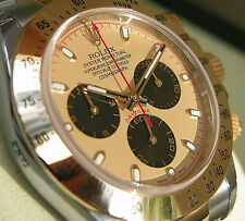 Rolex Daytona 116503 Mens Two Tone Steel & Gold Champagne Paul Newman Dial 40mm